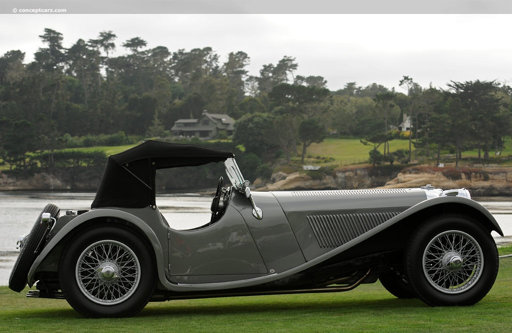 Auction Results And Data For 1938 Ss Cars Ss 100
