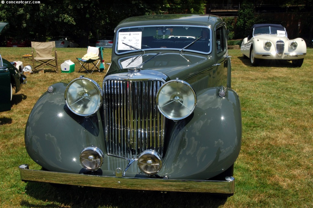 1948 Jaguar Mark IV 3.5-Liter Image