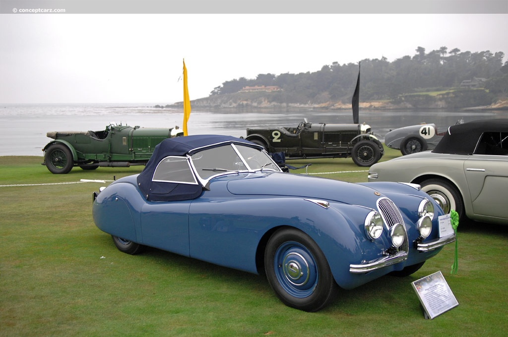 1950 jaguar xk 120. Black Bedroom Furniture Sets. Home Design Ideas