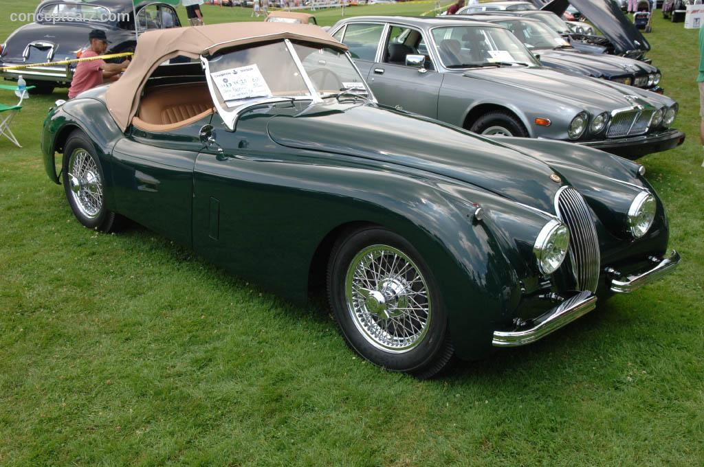 1953 jaguar xk120 at the pittsburgh vintage grand prix car show. Black Bedroom Furniture Sets. Home Design Ideas