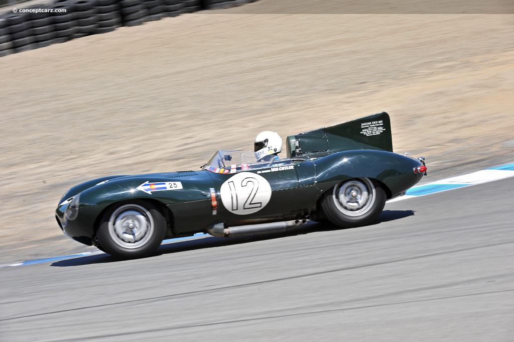 1954 Jaguar Type D Image