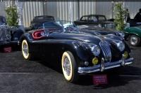 1954 Jaguar XK140 image.