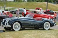 1956 Jaguar XK-140 image.