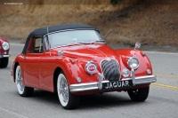 1961 Jaguar XK150 image.