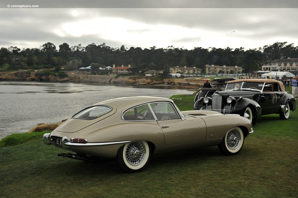 Detailed additionally Restored And Upgraded 1963 Jaguar E Type Fhc as well 1941 Cadillac Eldorado further 2011 Eagle Jaguar E Type further 57011 118 Burago Jaguar E Type Racing. on jaguar xke modifications