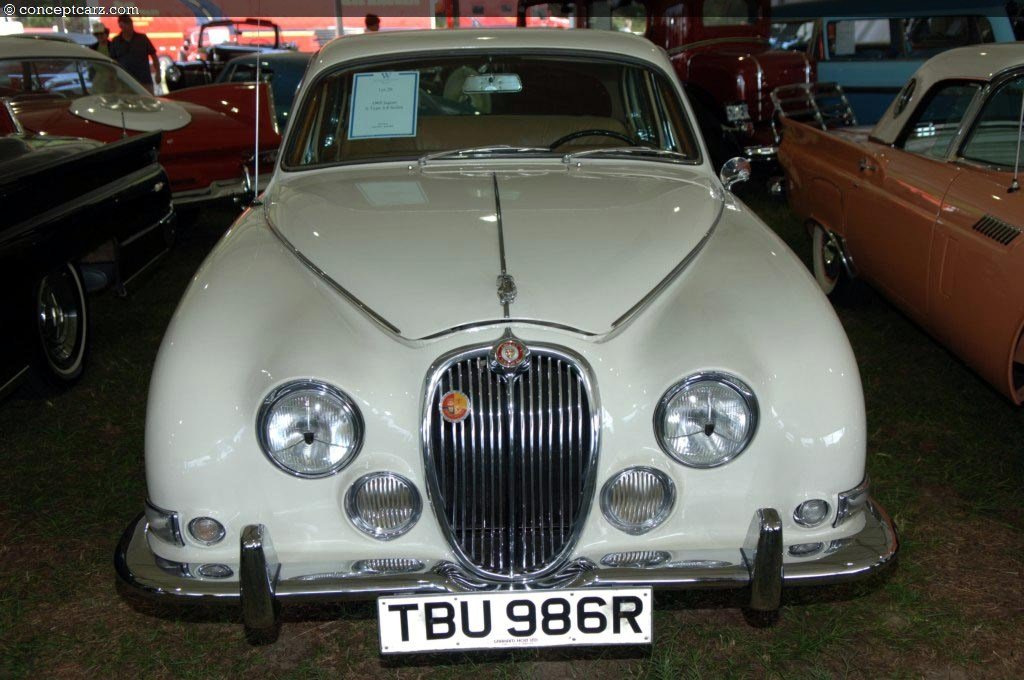 Auction results and data for 1965 Jaguar SType 38  conceptcarzcom