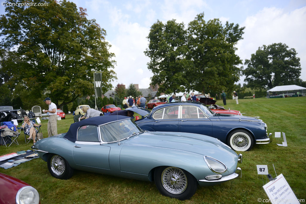 1966 jaguar xke e type at the the concours d 39 elegance at. Black Bedroom Furniture Sets. Home Design Ideas