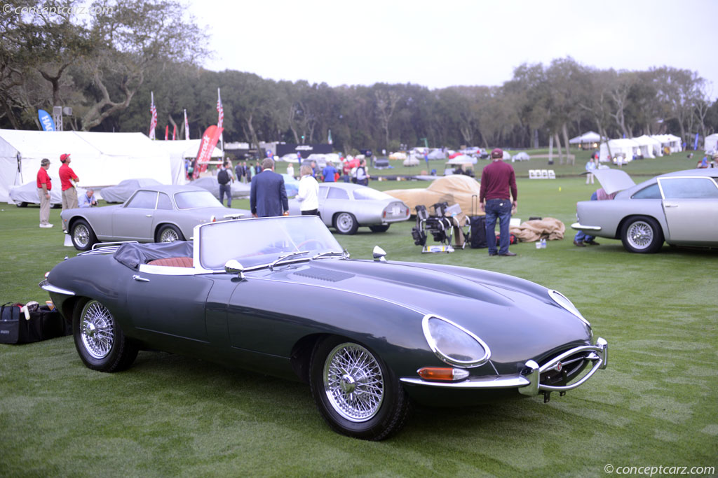 1966 jaguar xke e type at the amelia island concours d. Black Bedroom Furniture Sets. Home Design Ideas