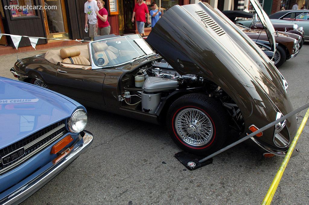 1969 Jaguar XKE EType Images Photo 6964JagXKEDV07SS01jpg