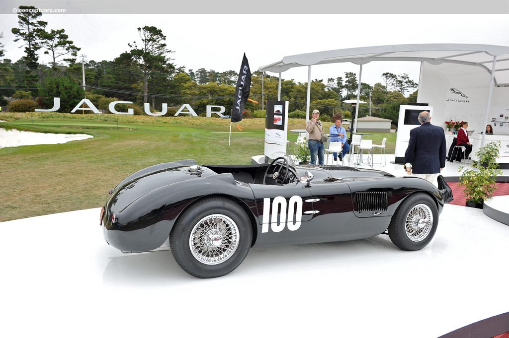 1952 Jaguar C Type At The Pebble Beach Concours D Elegance