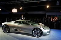 2010 Jaguar C-X75 Concept image.