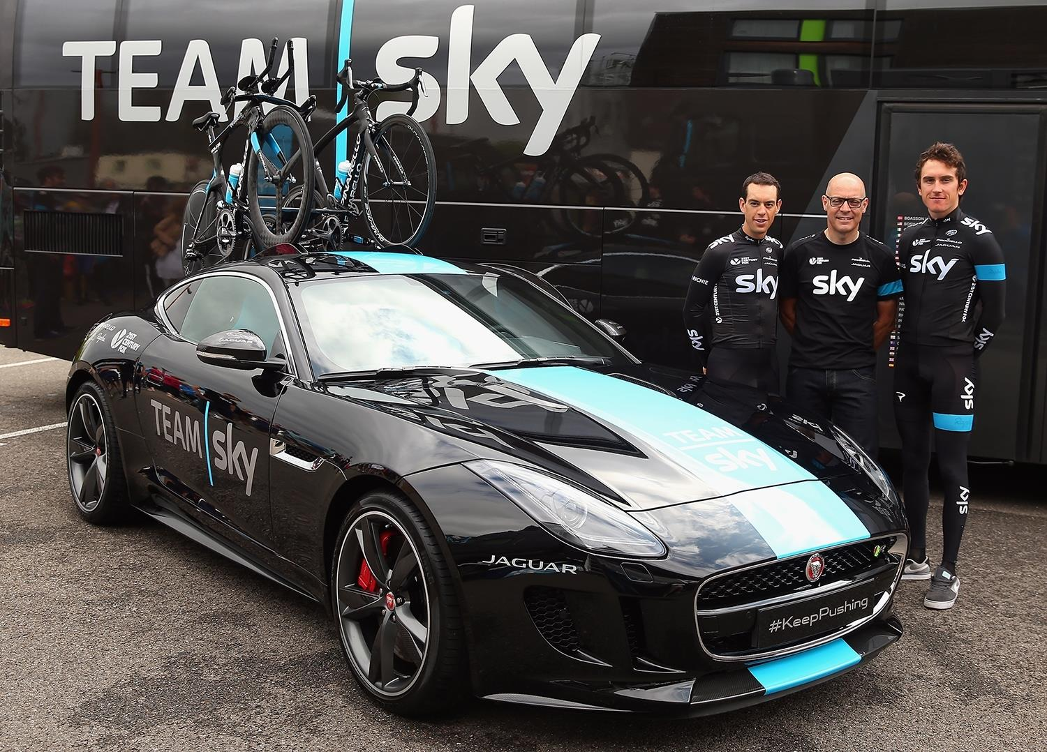 Jaguar F-TYPE Team Sky pictures and wallpaper