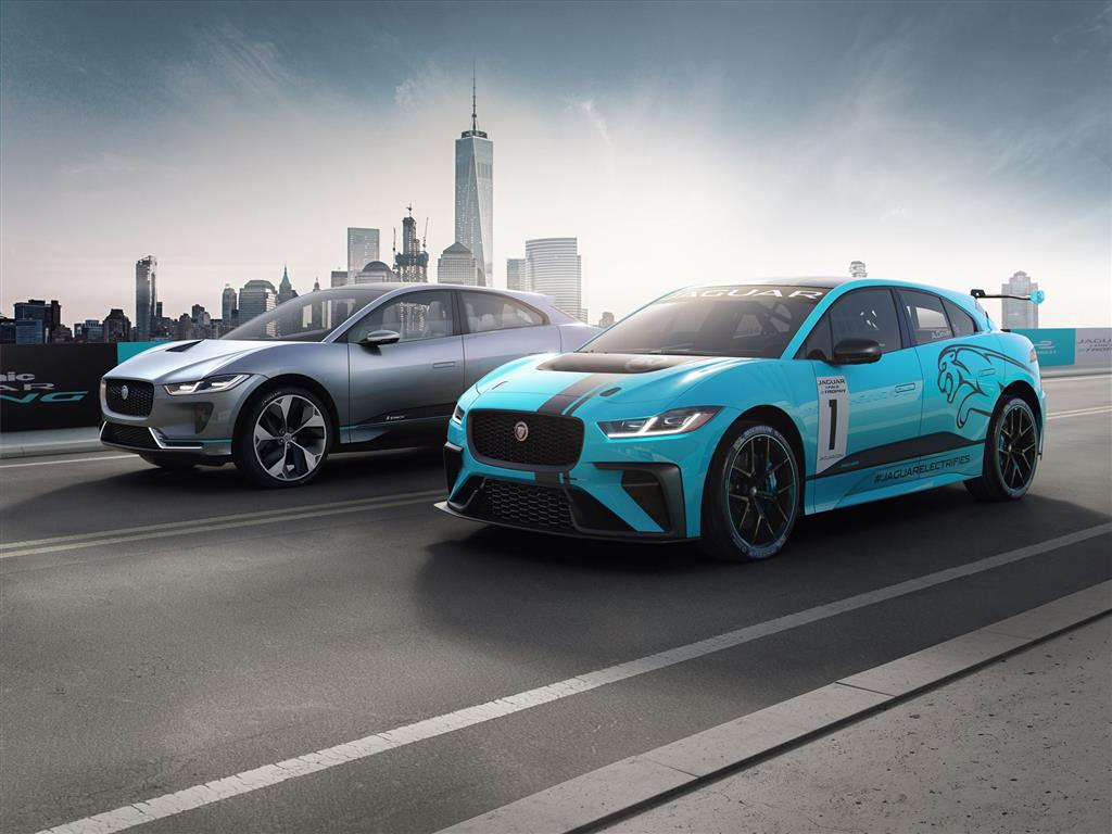 Jaguar I-PACE eTROPHY pictures and wallpaper