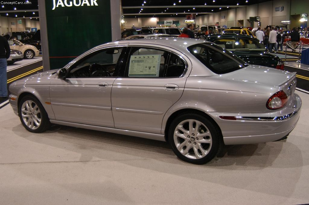 auction results and data for 2003 jaguar x type silver auction bellevue. Black Bedroom Furniture Sets. Home Design Ideas