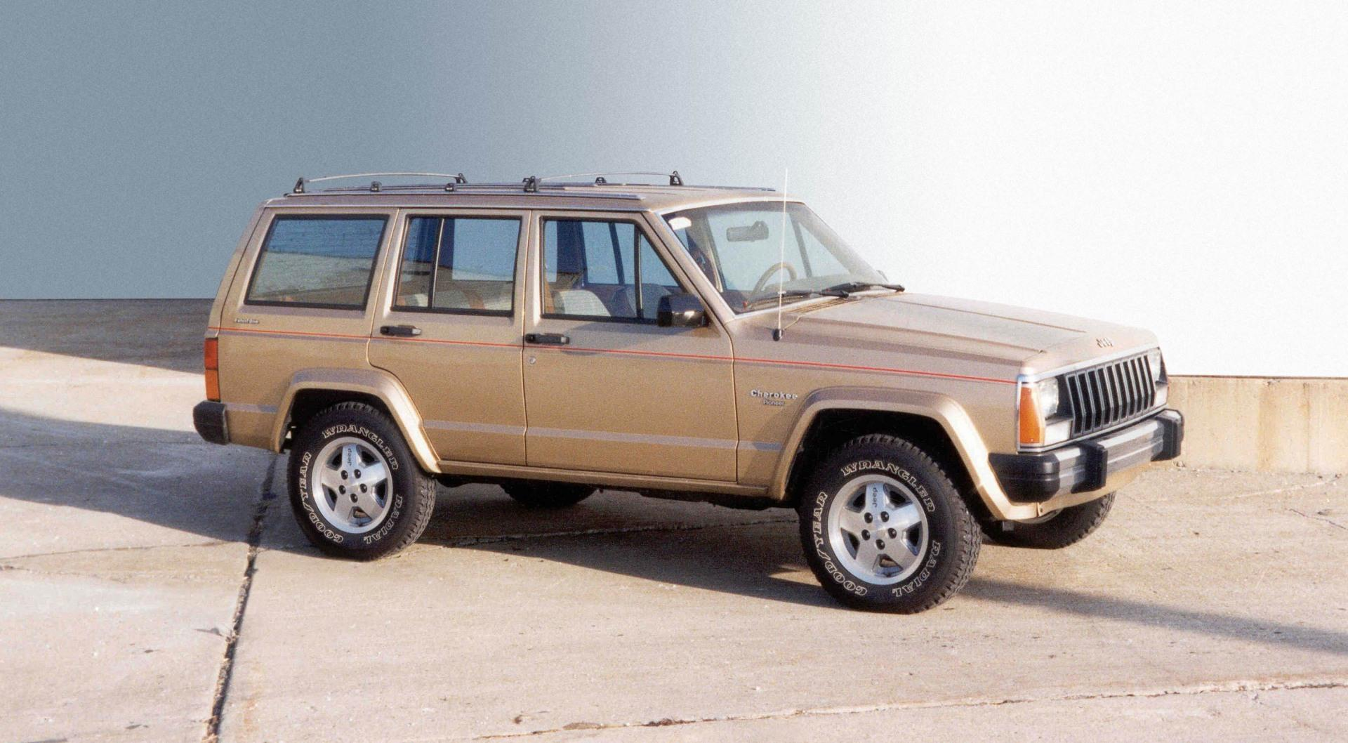 1984 Jeep Cherokee Conceptcarz Com