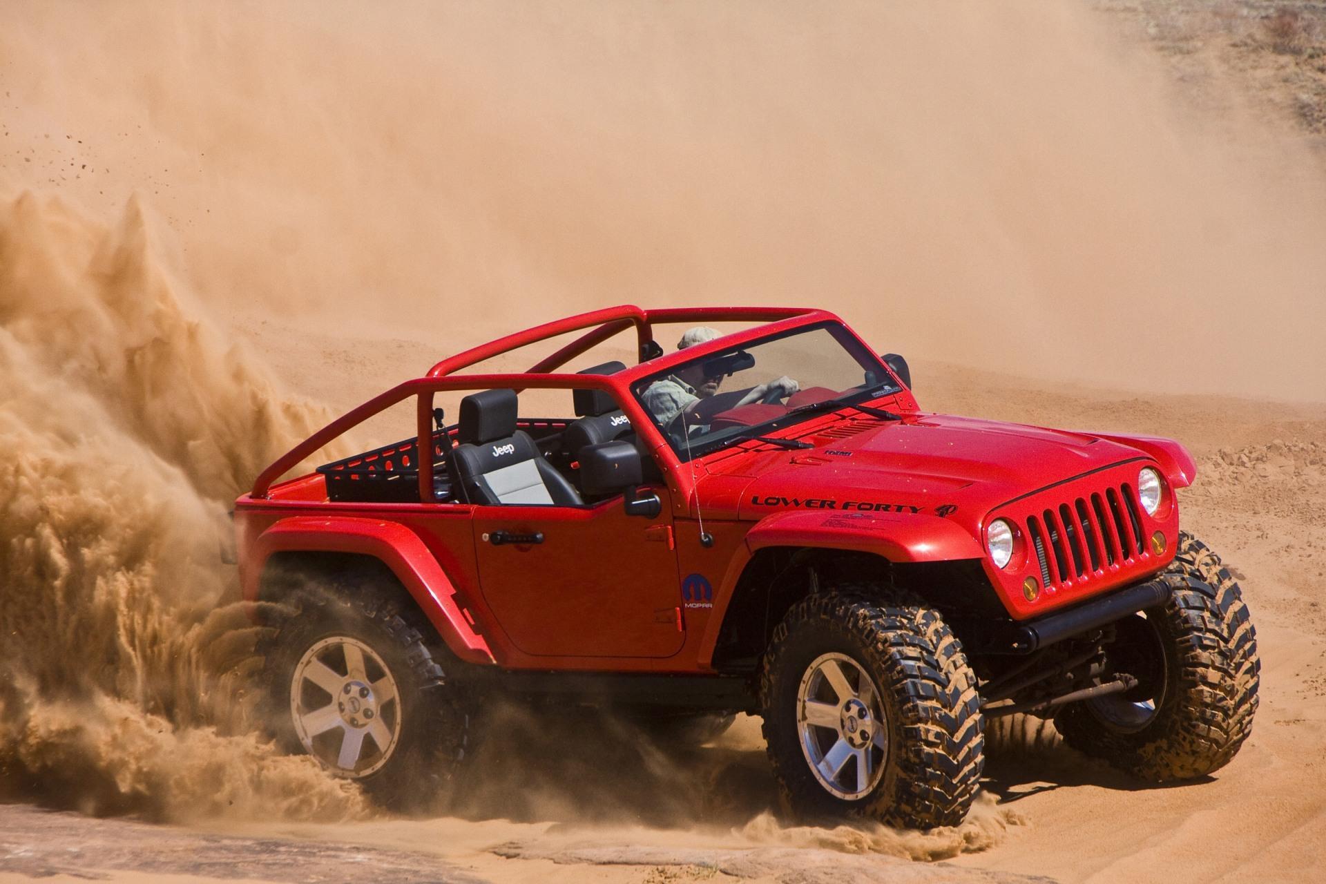 2010 Jeep Lower Forty Conceptcarz Com