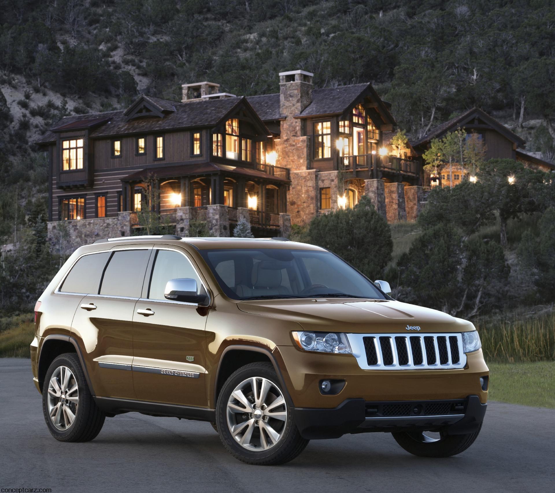 Jeep Cheroker: 2011 Jeep Grand Cherokee 70th Anniversary Edition