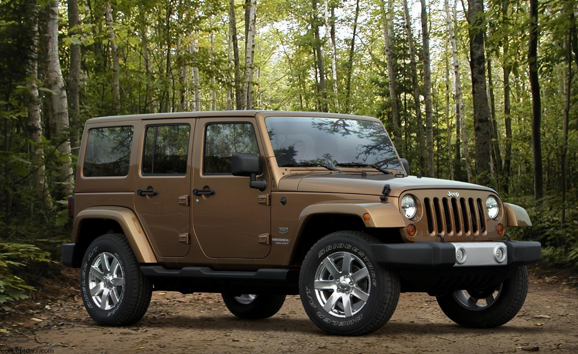 2011 Jeep Wrangler 70th Anniversary Edition News and Information