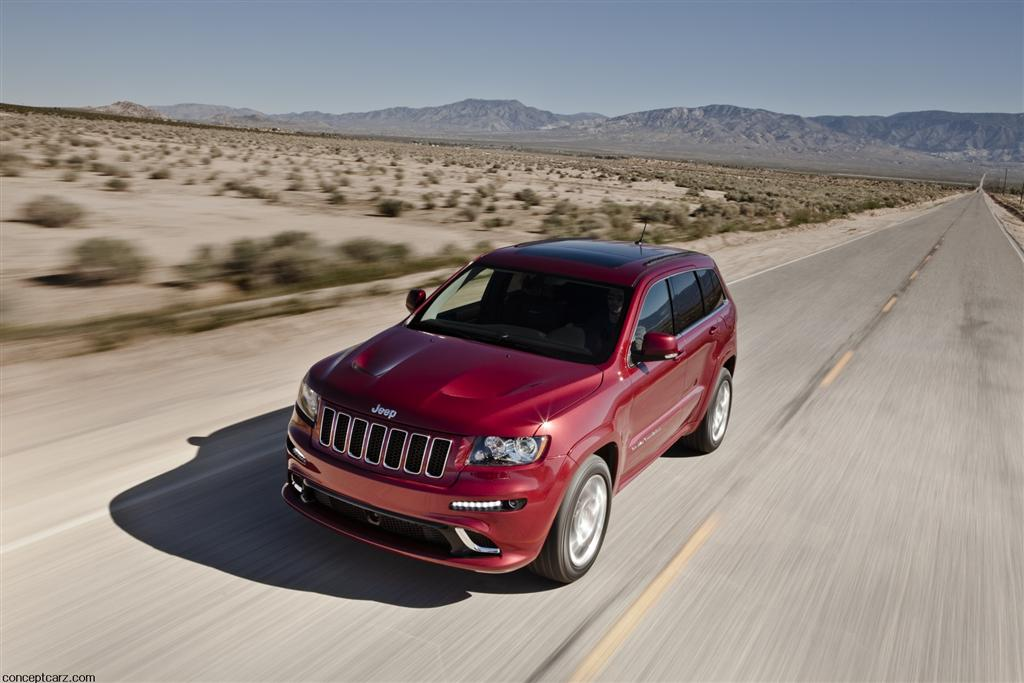 2012 Jeep Grand Cherokee SRT8 Image