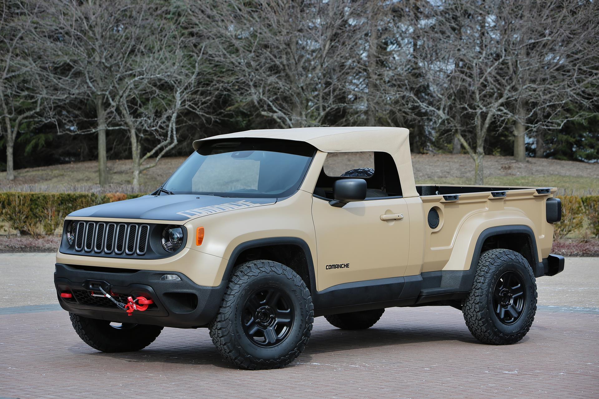 2016 Jeep Comanche Concept Conceptcarz Com