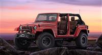 2015 Jeep Wrangler Red Rock Concept image.