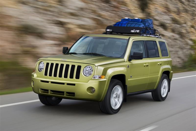 2009 Jeep Patriot Back Country Concept Image