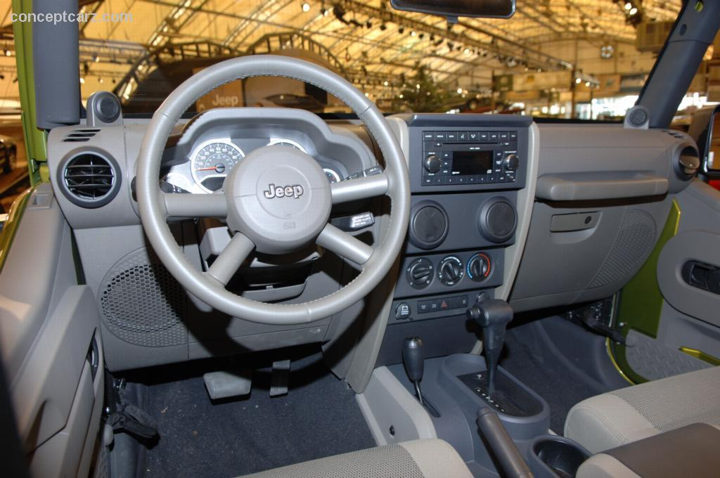 2007 Jeep Wrangler Unlimited Pictures History Value Research News