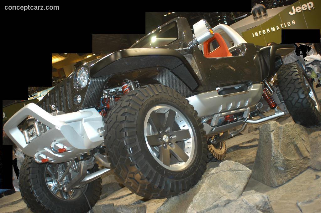 2006 Jeep Hurricane Concept Image
