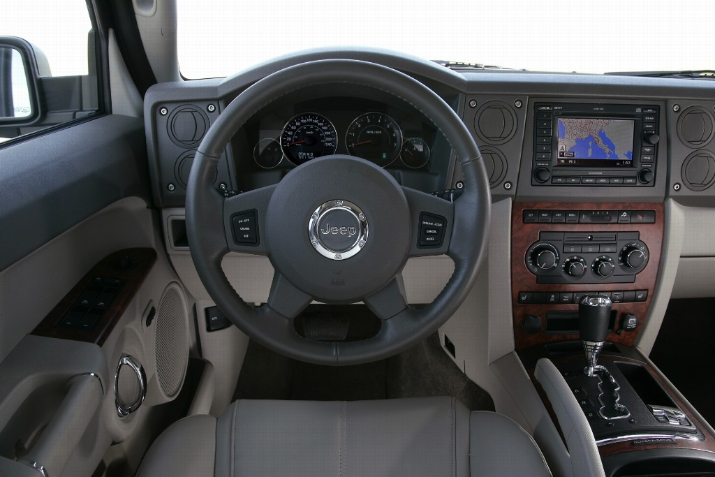 2007 jeep commander for Jeep commander interior