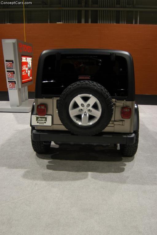 2003 Jeep Wrangler Rubicon Image