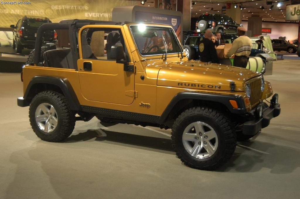 2003 Jeep Wrangler Rubicon Pictures History Value