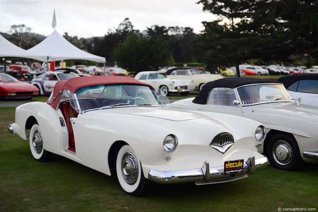 1954 Kaiser Darrin news, pictures, specifications, and information