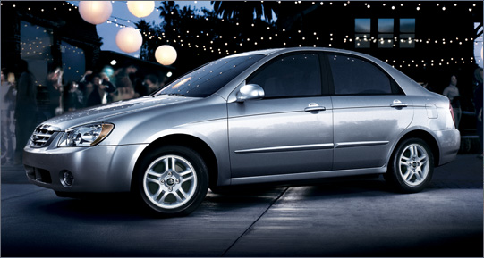 2005 Kia Spectra Pictures History Value Research News