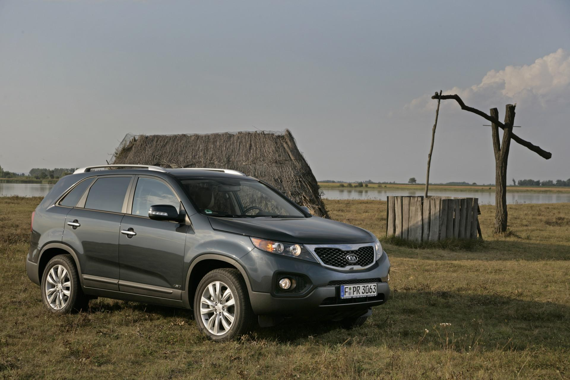 2010 Kia Sorento Technical Specifications And Data Engine Dimensions And Mechanical Details