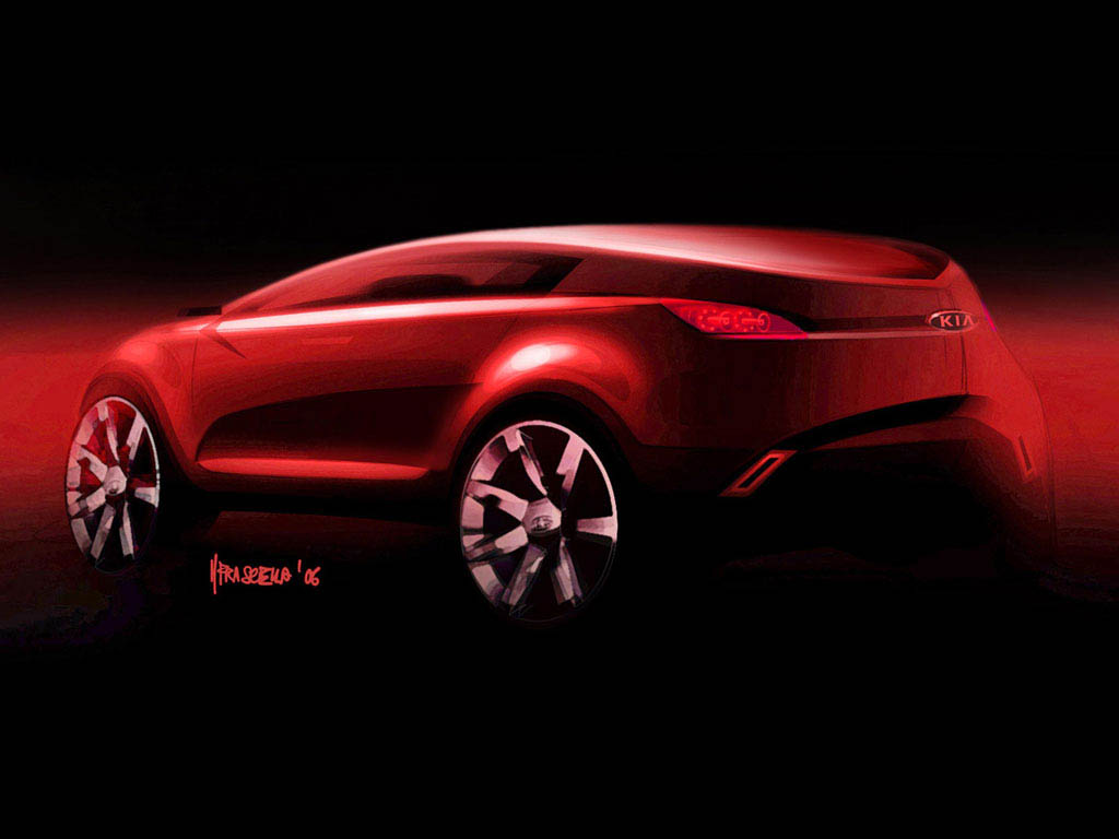 Past and future concept and prototype vehicles conceptcarz kia kue concept vanachro Image collections