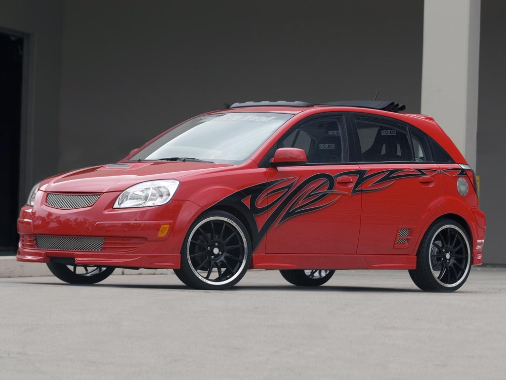 2005 kia rio5 red rocket pictures history value research news. Black Bedroom Furniture Sets. Home Design Ideas