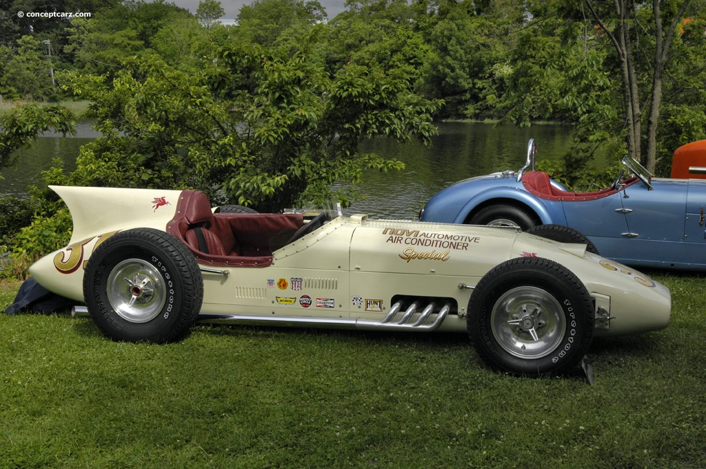 1956 Kurtis 500f At The Greenwich Concours D Elegance