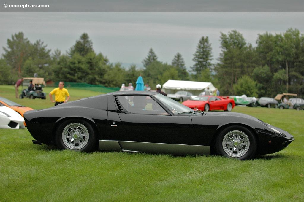 Auction Results And Data For 1967 Lamborghini Miura P400