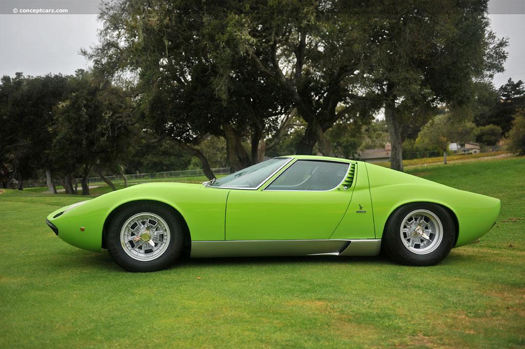 Auction Results And Data For 1970 Lamborghini Miura P400s