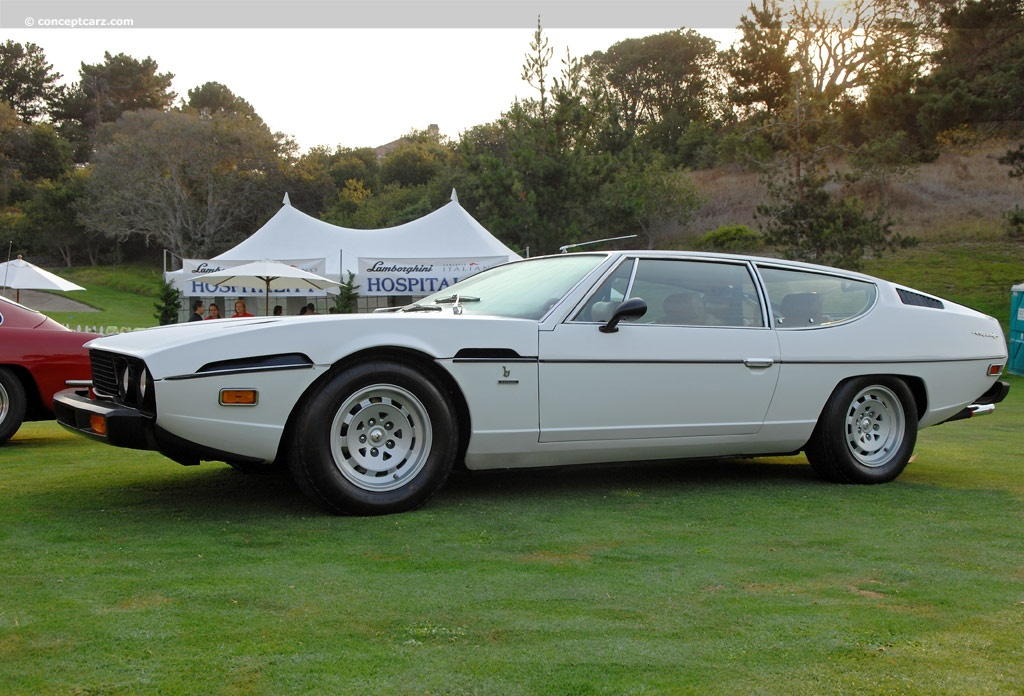 1974 Lamborghini Espada 400 Gt At The Concorso Italiano