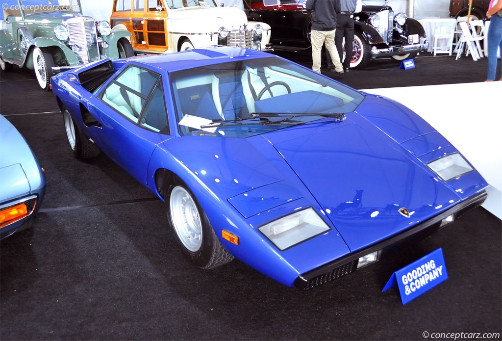 auction results and data for 1976 lamborghini countach. Black Bedroom Furniture Sets. Home Design Ideas