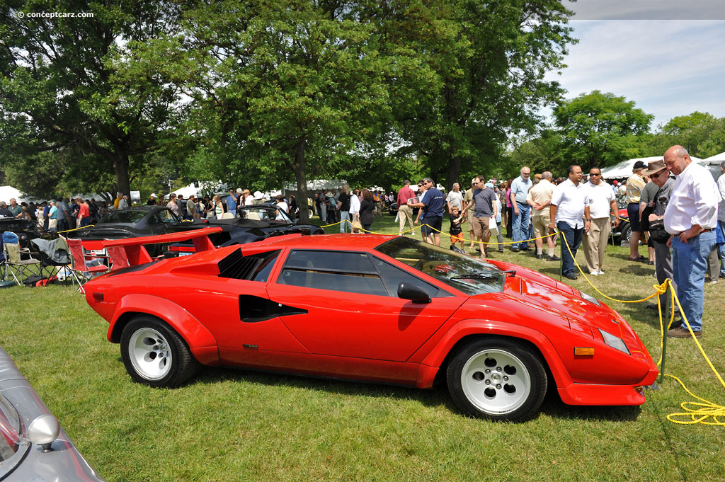 auction results and data for 1985 lamborghini countach. Black Bedroom Furniture Sets. Home Design Ideas
