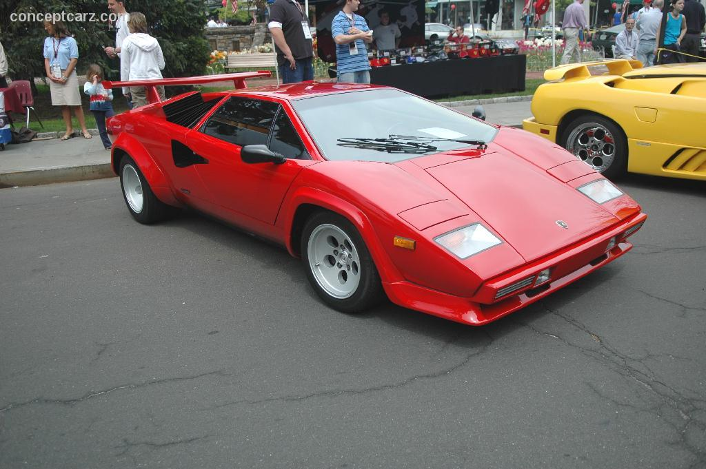 1985 lamborghini countach at the scarsdale concours new york. Black Bedroom Furniture Sets. Home Design Ideas