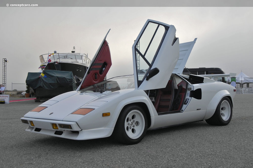 auction results and data for 1982 lamborghini countach lp 500. Black Bedroom Furniture Sets. Home Design Ideas