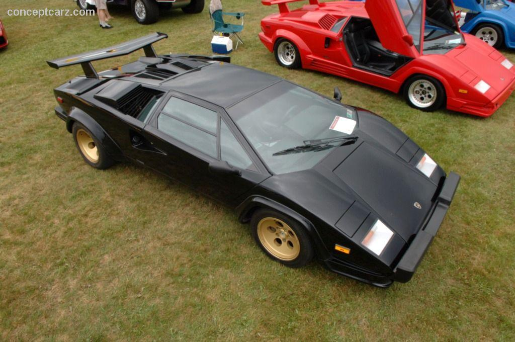1987 lamborghini countach technical specifications and data engine dimensions and mechanical. Black Bedroom Furniture Sets. Home Design Ideas