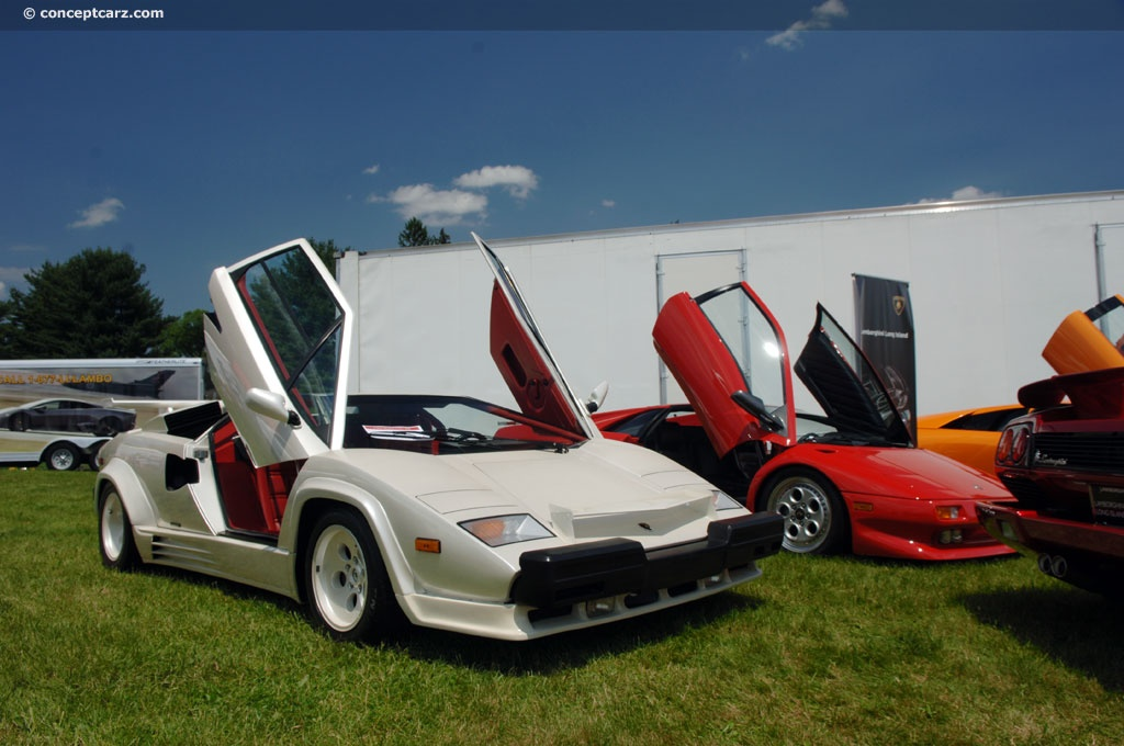 auction results and data for 1988 lamborghini countach 5000 quattrovalvole. Black Bedroom Furniture Sets. Home Design Ideas