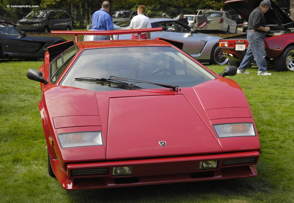 1988 lamborghini countach 5000 quattrovalvole at the glenmoor gathering of si. Black Bedroom Furniture Sets. Home Design Ideas