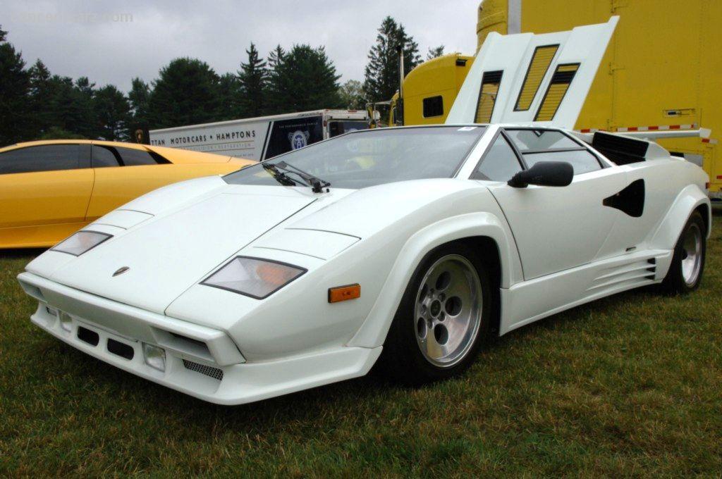 1988 Lamborghini Countach 5000 Quattrovalvole At The Le