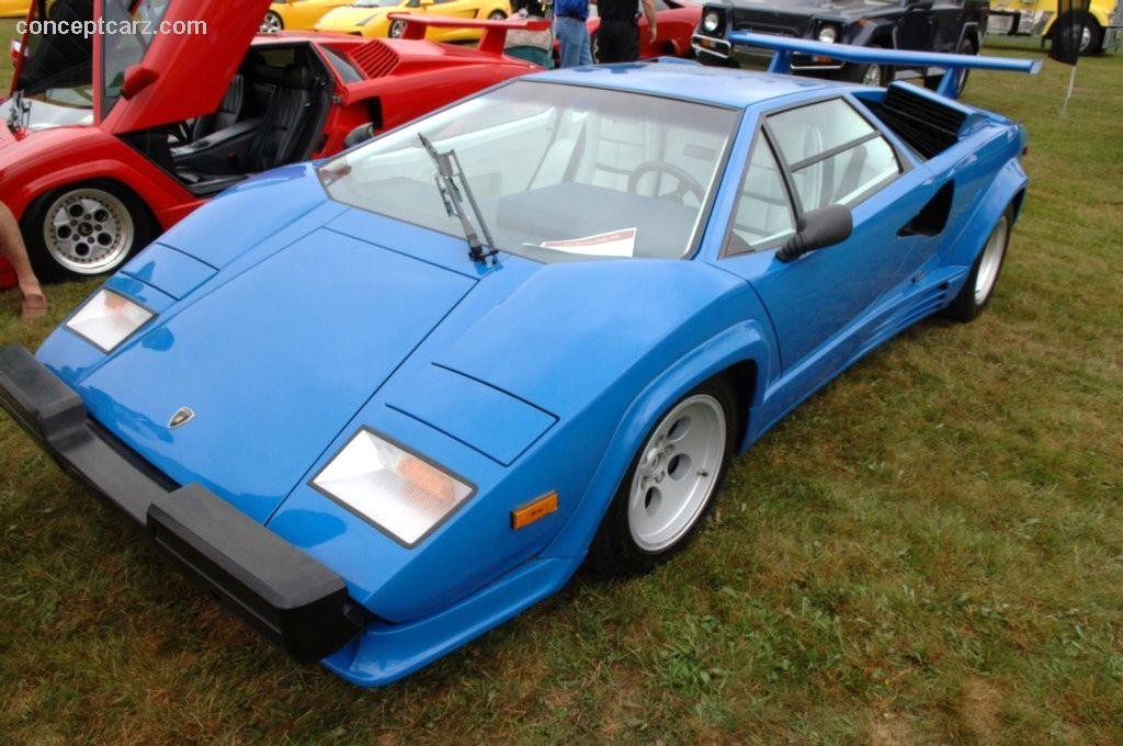 1988 lamborghini countach 5000 quattrovalvole at the summit point class 3 veh. Black Bedroom Furniture Sets. Home Design Ideas