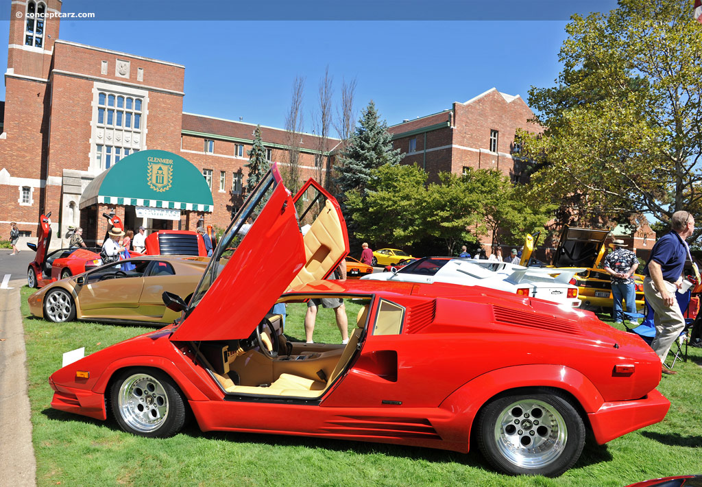 1989 lamborghini countach 25th anniversary at the glenmoor gathering of significant automobiles. Black Bedroom Furniture Sets. Home Design Ideas